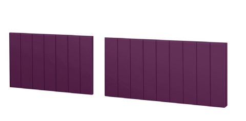 Split Gloss Aubergine Bath Panels